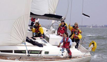 Sailboat Jeanneau Sun Odyssey 40 (2010)