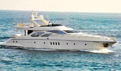 Motor boat Azimut Leonardo 100 (2010)