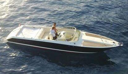 Motor boat Monte Carlo 30 (1986)