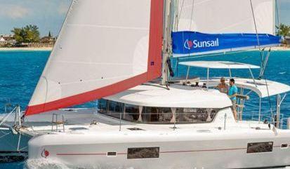 Catamarano Lagoon Sunsail 424 (2020)