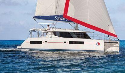 Catamaran Leopard Sunsail 454 (2017)