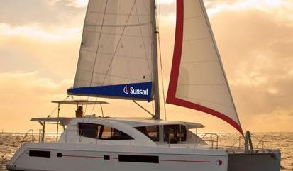 Catamaran Leopard Sunsail 484 (2017)