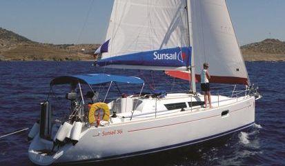 Sailboat Jeanneau Sunsail 36i (2008)