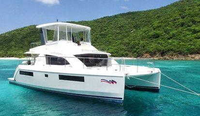 Motor Catamaran Leopard Moorings 434 (2016)
