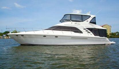Motorboot Sea Ray 560 Sedan Bridge (2010)