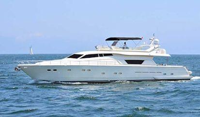 Motor boat Ferretti 80 (2000)