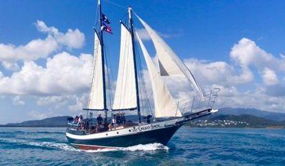 Sailboat Gaff Schooner (1991)