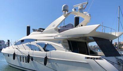 Motor boat Azimut 62 (2002)