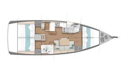 Sailboat Jeanneau Sun Odyssey 440 (2018)