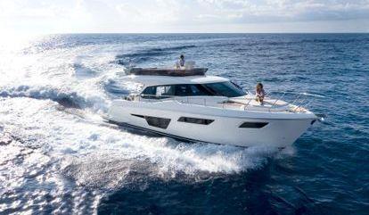 Motor boat Ferretti 500 (2021)