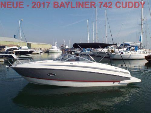 Sportboot Bayliner 742 Cuddy (2017)