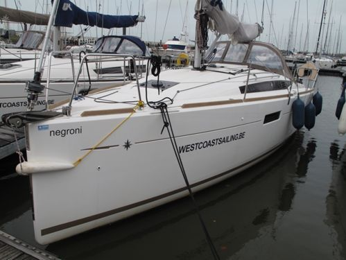 Segelboot Jeanneau Sun Odyssey 349 (2014)