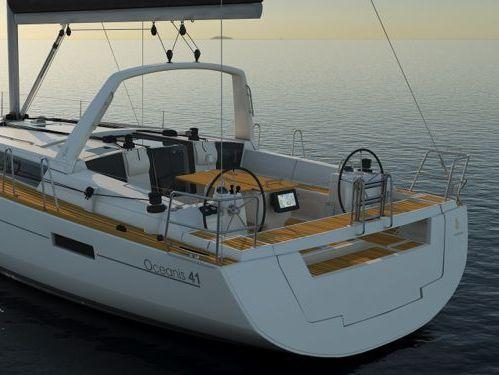 Sailboat Beneteau Oceanis 41.1 (2017)