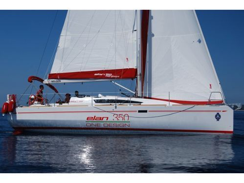 Segelboot Elan 350 (2012)