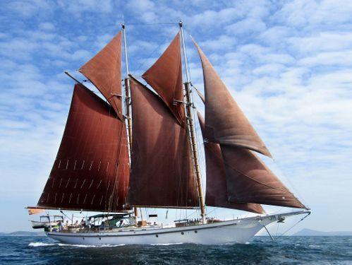 Segelboot Gaff Schooner (1990)