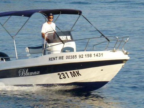 Motorboot Blumax 550 Open (2010)