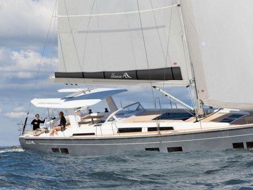 Sailboat Hanse 588 (2019)