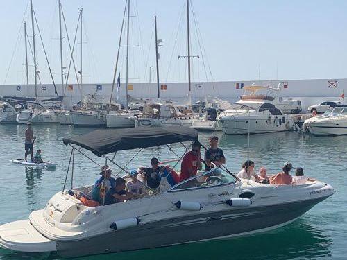 Speedboot Sea Ray 240 SD (2013)