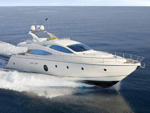 Motor boat Aicon 64 (2012)