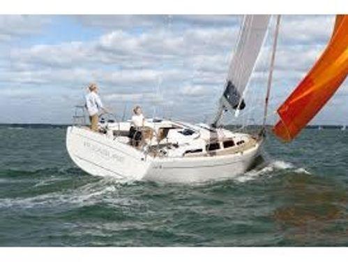 Segelboot Hanse 345 (2013)