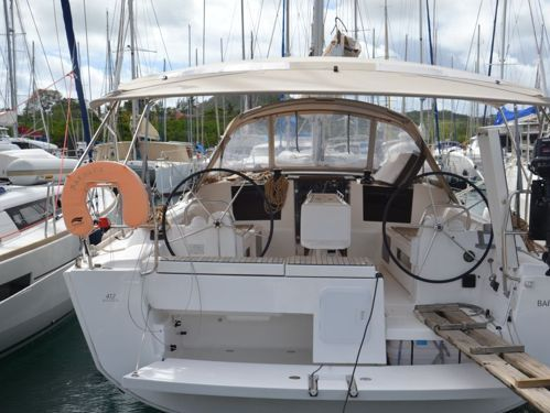 Segelboot Dufour 412 (2018)