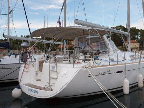 Sailboat Beneteau Oceanis 50 (2012)