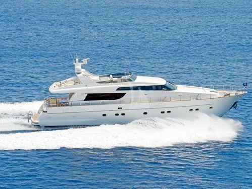 Motor boat San Lorenzo 72 (2006)