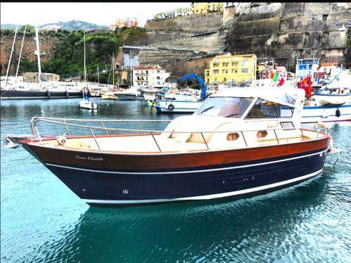 Imbarcazione a motore Apreamare Smeraldo 12 (2002)