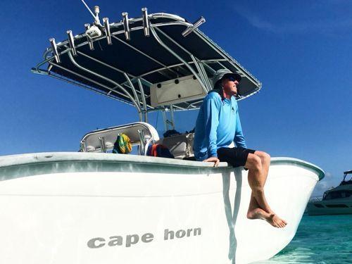 Speedboot cape horn 32 (2009)