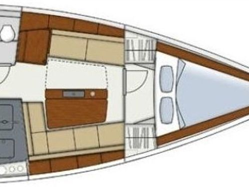 Sailboat Hanse 345 (2017)