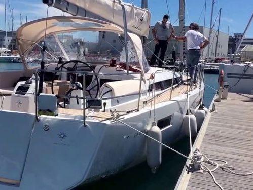 Sailboat Jeanneau Sun Odyssey 440 (2020)