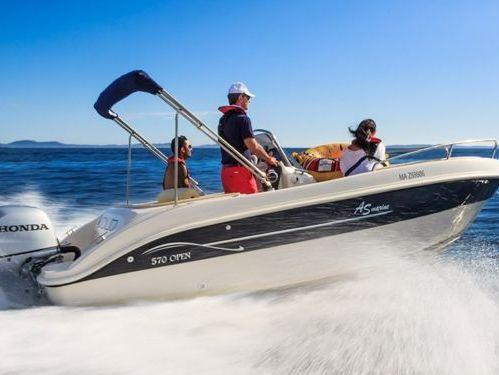 Motor boat AS Marine 570 Open (2019)