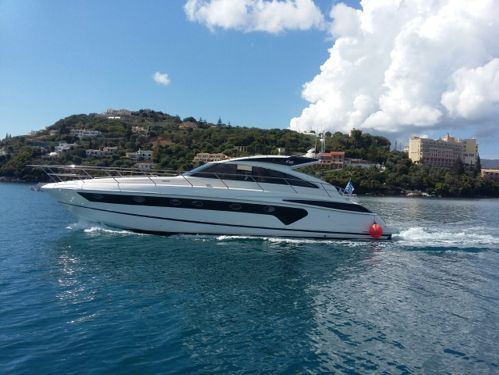 Motor boat Princess V53 (2007)