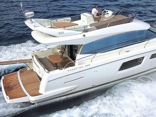 Barco a motor Jeanneau Prestige 500 (2016)