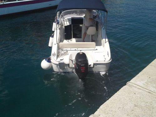 Motorboot Saver 590 (2014)