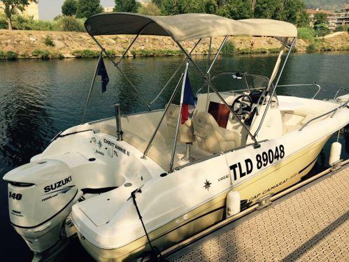 Speedboat Jeanneau Cap Camarat 635 (2012)