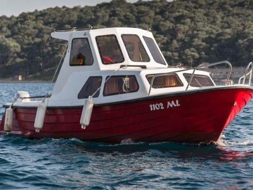 Motor boat Adria 690 (1986)