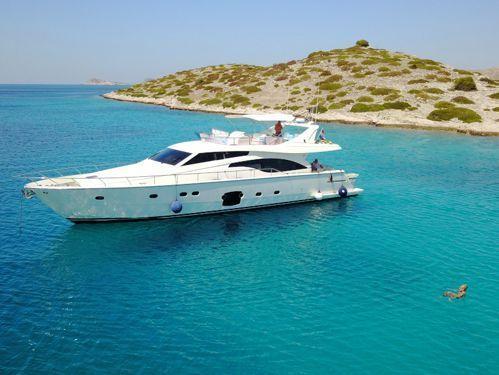 Motor boat Ferretti 681 (2007)