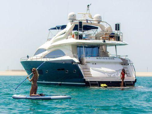 Motor boat Sunseeker 90 (2008)
