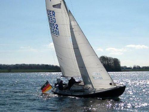 Zeilboot GFK-Folkeboot GER 667 (1993)