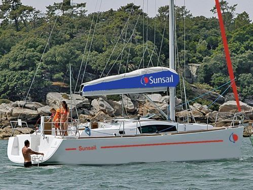 Segelboot Jeanneau Sunsail 41.3 (2016)