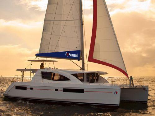 Catamaran Leopard Sunsail 484 (2016)