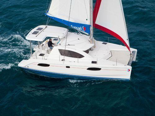 Catamaran Leopard Sunsail 404 (2018)