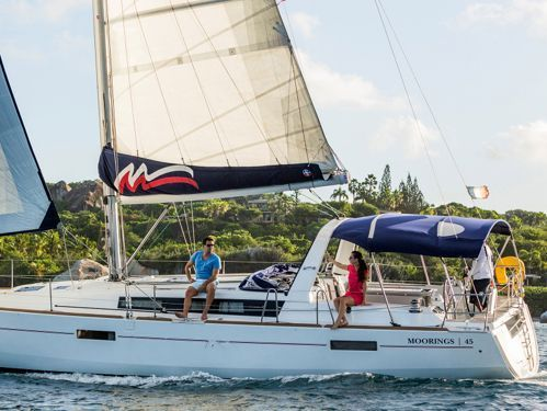 Sailboat Beneteau Moorings 45.3 (2018)