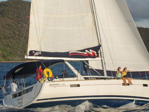 Sailboat Beneteau Moorings 453 (2017)