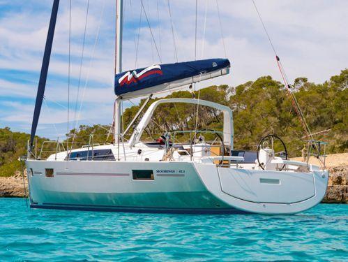 Sailboat Beneteau Moorings 42.1 (2019)