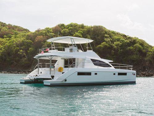 Motor Catamaran Leopard Moorings 514 (2018)