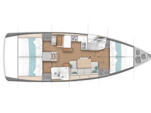 Segelboot Jeanneau Sun Odyssey 440 (2018)