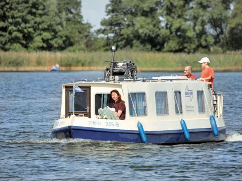 Motorboot Narrowboat Kuinder (1984)