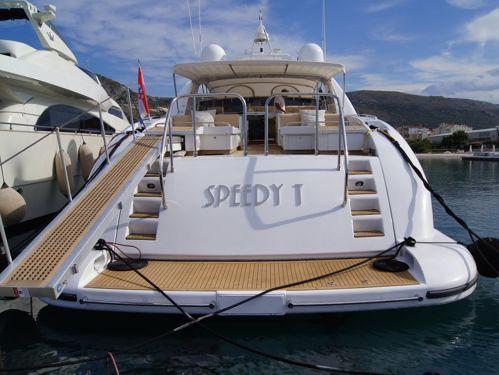 Motor boat Mangusta 80 (1994)